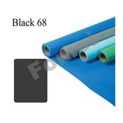 Fomei Black 68 tło papierowe czarne w 2,72 m x 11 m
