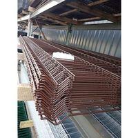 Przęsła i elementy ogrodzenia, Panel ogrodzeniowy Fi5 1530x2500mm RAL8017 brązowy