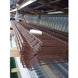 Panel ogrodzeniowy Fi5 1530x2500mm RAL8017 brązowy