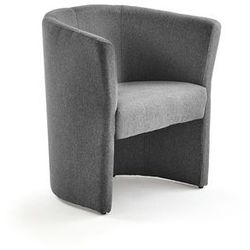 Fotel CLOSE, tkanina, ciemnoszary