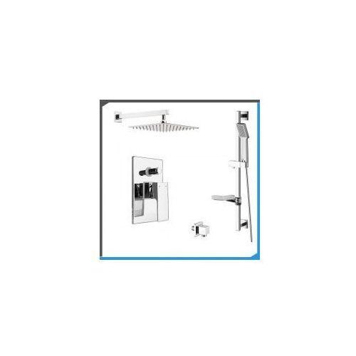 Podtynkowy zestaw prysznicowy z Deante Quadrato BOQ044P, chrom ZEST111, ZEST111