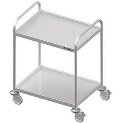 Wózek kelnerski dwupółkowy STALGAST 1000x500x950mm 982025100