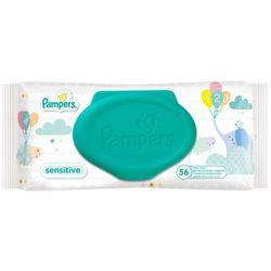 Chusteczki nawilżane PAMPERS Sensitive (56 sztuk)