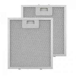 Klarstein filtr aluminiowy przeciwtłuszczowy, 23 x 26 cm, filtr zamienny zapasowy