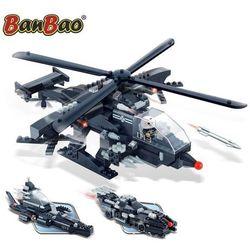 BanBao Wojskowy helikopter 3 w 1, zestaw klocków, 8488 Darmowa wysyłka i zwroty
