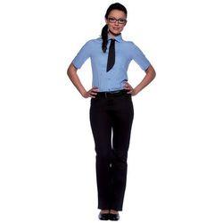 Bluzka damska z krótkim rękawem, rozmiar 40, jasnoniebieska | KARLOWSKY, Juli