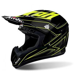 AIROH SWITCH SPACER YELLOW GLOSS Kask Off-road