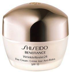 Shiseido Benefiance Wrinkle Resist 24 krem do twarzy na dzień 50 ml tester dla kobiet