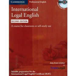 International Legal English + CD (opr. miękka)