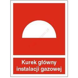 Znak Kurek główny instalacji gazowej