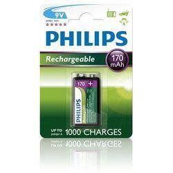 Philips bateria 9V 170 mAh elem (9VB1A17/10) - BEZPŁATNY ODBIÓR: WROCŁAW!