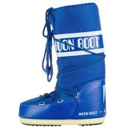 Moon Boot MB Nylon Śniegowce Niebieski 23-26 Przy zakupie powyżej 150 zł darmowa dostawa.