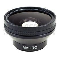 Konwertery fotograficzne, Konwerter szerokokątny 0,45x 37mm + macro