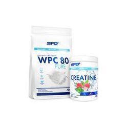 SFD NUTRITION WPC 80 Pure Protein + Creatine 700g+500g