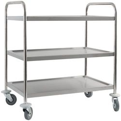 Wózek kelnerski 3-półkowy Stalgast 661030