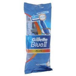 Gillette Blue II Plus jednorazowe maszynki do golenia 5 szt.