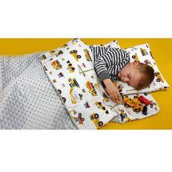 Śpiworek przedszkolaka koparki + worek