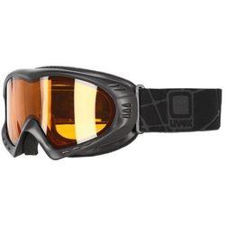 UVEX gogle Cevron black mat, lasergold lite clear (S1)