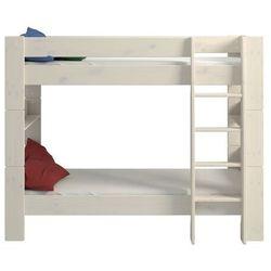 Łóżko piętrowe podwójne steens for kids sosna bielona