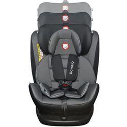 Fotelik samochodowy Lionelo BASTIAAN szaro-czarny 0-36 kg