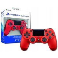 Gamepady, PS4 PAD SONY DUALSHOCK 4 V2 W PUDEŁKU CZERWONY