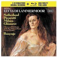 Pozostała muzyka rozrywkowa, DONIZETTI LUCIA DI LAMMERMOOR (2CD + 1 BLU-RAY AUDIO) - Luciano Pavarotti (Płyta CD)