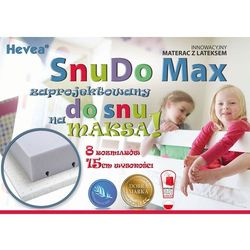 MATERAC WYSOKOELASTYCZNY HEVEA SNUDO MAX 160x80