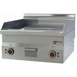 Płyta grillowa elektryczna gładka nastawna | 595x470mm | 6000W