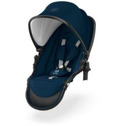 Kiddy Tandem Siedzisko do wózka Evostar 1 Mountain Blue - niebieski