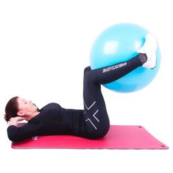 Piłka gimnastyczna inSPORTline Top Ball 55 cm - Kolor Czerwony