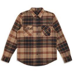 koszula BRIXTON - Bowery L/S Flannel Cream/Copper (CRCOP) rozmiar: L