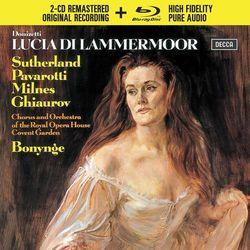DONIZETTI LUCIA DI LAMMERMOOR (2CD + 1 BLU-RAY AUDIO) - Luciano Pavarotti (Płyta CD)