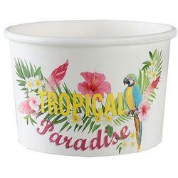 Pucharki kubeczki do lodów Hawaje Tropical Party - 10 szt.