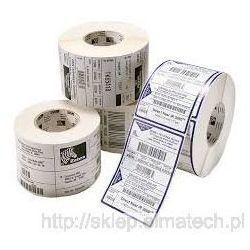 Etykieta folia biała PE 30x10mm rolka 5tyś szt