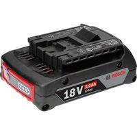 Ładowarki i akumulatory, Akumulator do elektronarzędzia Bosch Professional GBA 18 V 1600Z00036, 18 V, 2 Ah, Li-Ion
