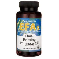 Swanson Evening Primrose Oil (Olej z nasion wiesiołka) 500mg 100 kaps.