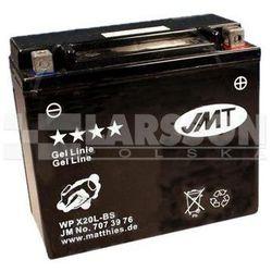 Akumulator żelowy JMT YTX20L-BS (WPX20L-BS) 1100312 Harley Davidson FLSTF 1600