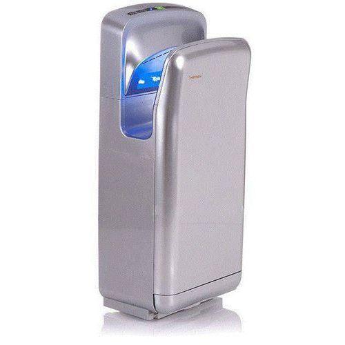 Suszarki do rąk, Kieszeniowa suszarka do rąk Warmtec JetFlow 1650 1650W, automatyczna, srebrna, ABS