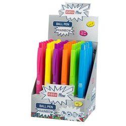 Długopis automatyczny Rainbow (36szt) EASY