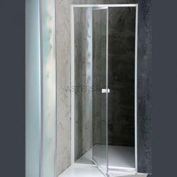 AMICO Drzwi prysznicowe do wnęki, skrzydłowe (wahadłowe) 74-82x185 cm G70