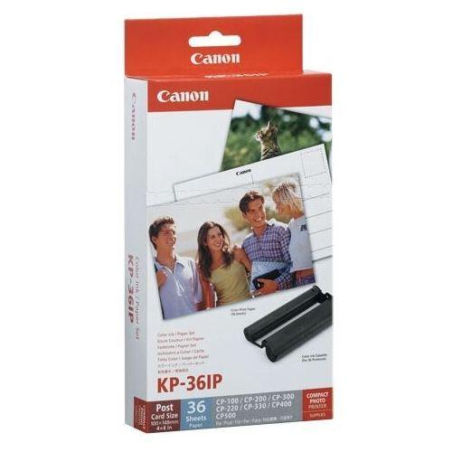Papiery i folie do drukarek, Canon papier termosublimacyjny KP-36IP, KP36IP, 100 x 148 mm, 36 arkuszy