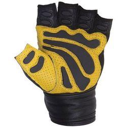 Rękawice fitness SPOKEY Festo (rozmiar XL) Czarno-żółty