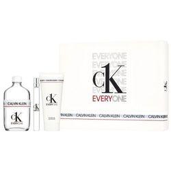 Calvin Klein CK Everyone zestaw Edt 100 ml +Edt 10 ml + Żel pod prysznic 100 ml unisex