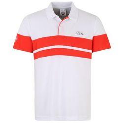Lacoste Sport Koszulka funkcyjna czerwony / biały