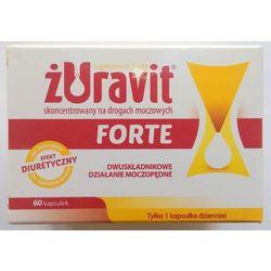 ZURAVIT FORTE*60 kaps. twarde