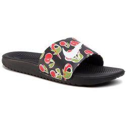 Klapki NIKE - Kawa Slide Se Picnic (Gs/Ps) CJ4123 001 Black/White/Track Red/Pear