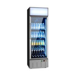 Klarstein Berghain, lodówka na napoje, 278l, oświetlenie wewnętrzne, 210W, 2-8 ° C, stal nierdzewna