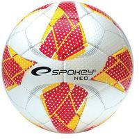 Piłka nożna, Piłka nożna halowa SPOKEY Neo Futsal II bordowy (rozmiar 4)