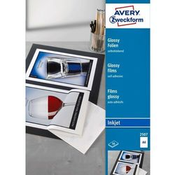 Folia do drukarek atramentowych A4 Avery 50 szt. 2507