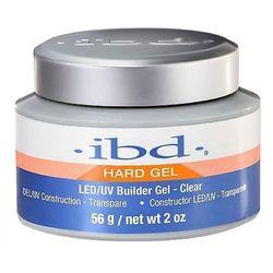 ibd LED/UV BUILDER GEL CLEAR Budujący żel LED/UV do paznokci (przezroczysty) - 56 G.